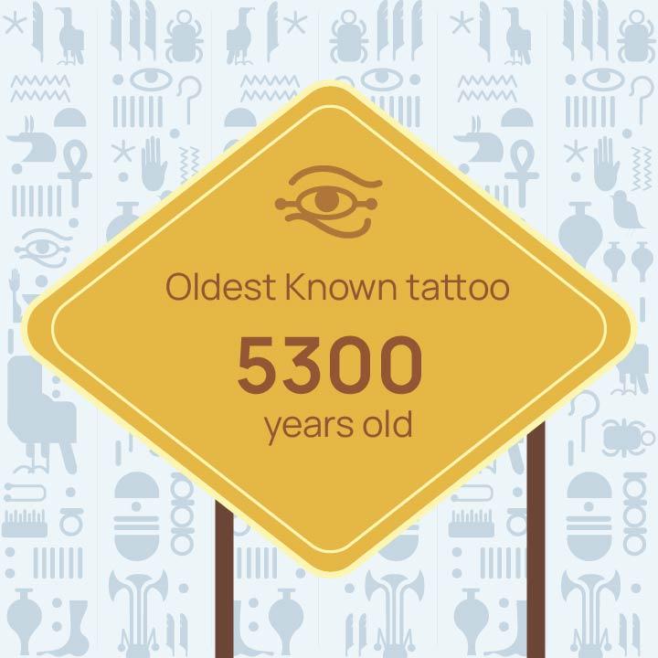 oldest tattoo till date